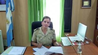 Leticia Díaz abrió caminos y es la primera mujer en ocupar una jefatura en Prefectura
