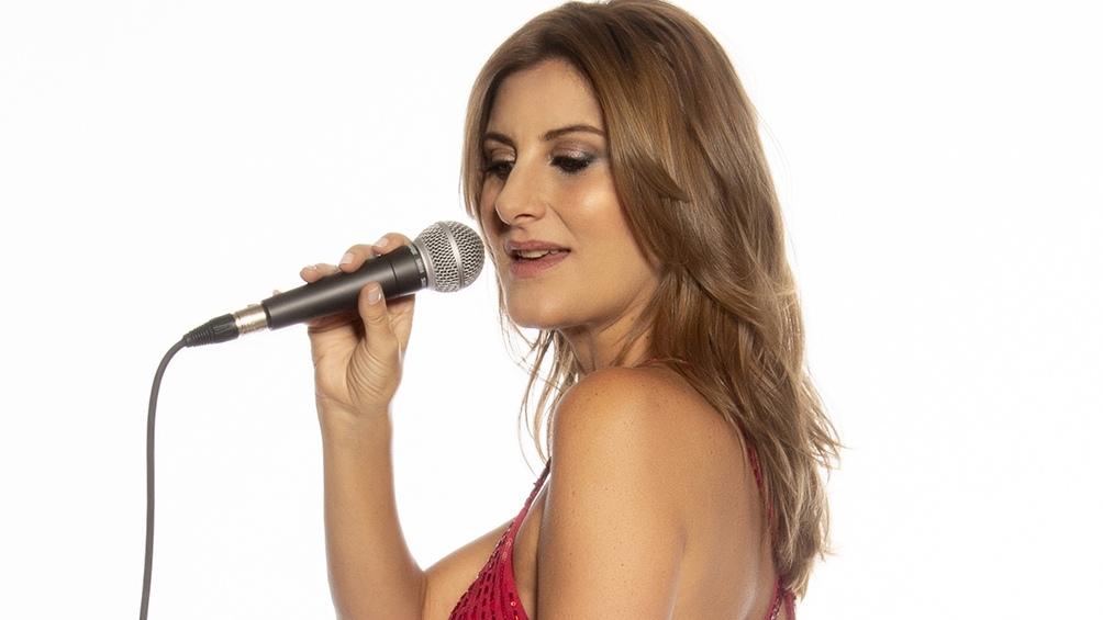 La cantante Delfina Oliver