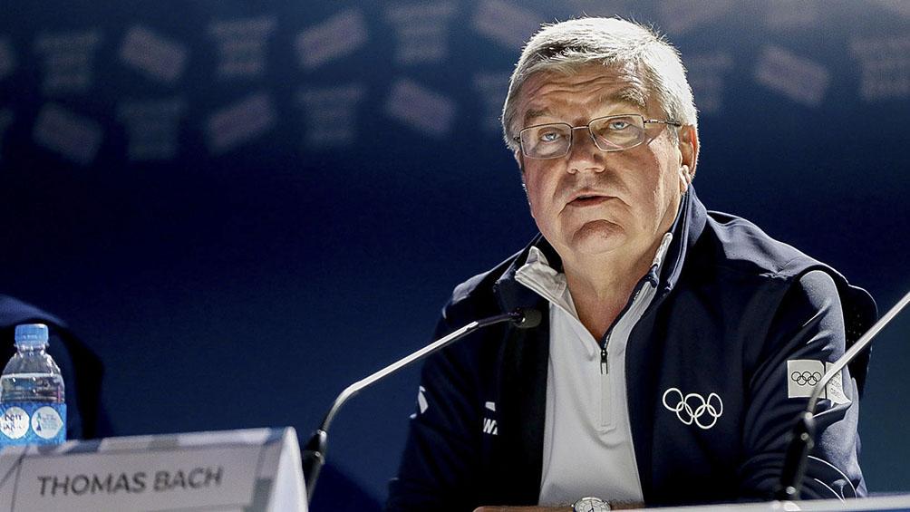 Bach fue reelecto y aseguró que los Juegos comenzarán en Tokio el 23 de julio