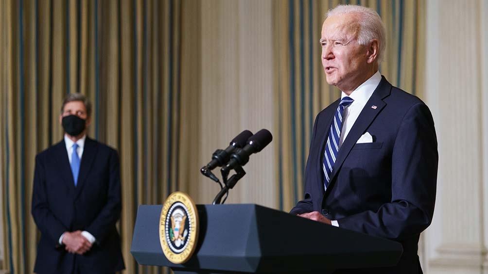 El presidente estadounidense recordará al medio millón de compatriotas muertos por la pandemia.