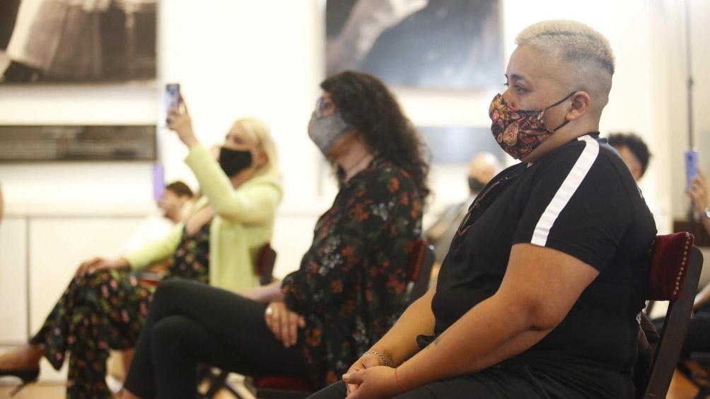 El acto se realizó en el Salón de las Mujeres de la Casa Rosada.