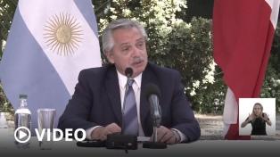 """Fernández llamó a los países latinoamericanos a buscar """"una salida común"""""""