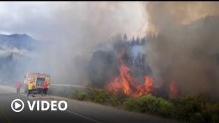 Suman a 20 brigadistas cordobeses al combate del fuego que arrasó 8 mil hectáreas