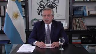"""Alberto Fernández: """"El diálogo con el FMI está en marcha y es muy constructivo"""""""