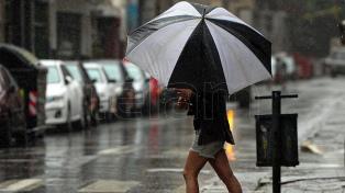 Otra jornada con probabilidad de lluvias fuertes para la ciudad de Buenos Aires y alrededores