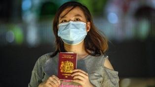 China no reconocerá los pasaportes otorgados por el Reino Unido a los hongkoneses