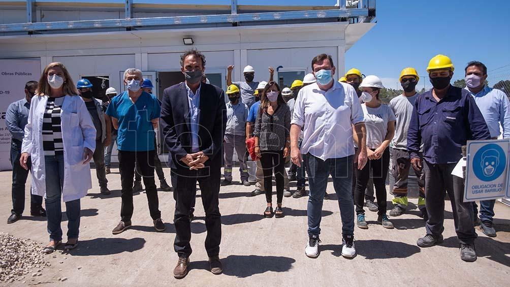 """Katopodis: """"Desde el Gobierno nacional siempre estamos planificando con las provincias, los municipios qué infraestructura necesita la Argentina. Qué hospitales y centros de salud debemos fortalecer""""."""