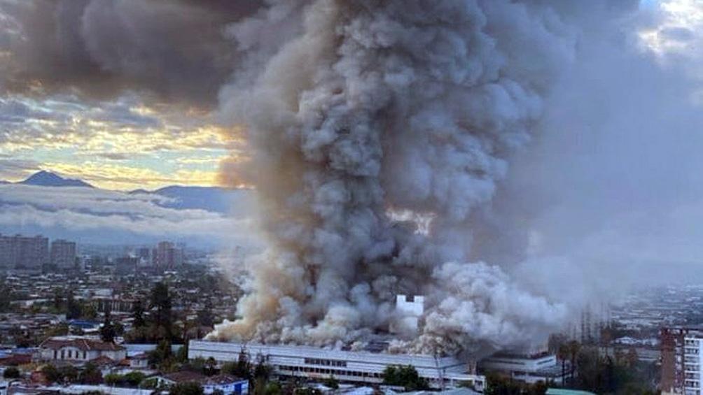 Incendio en el hospital San Borja Arriarán