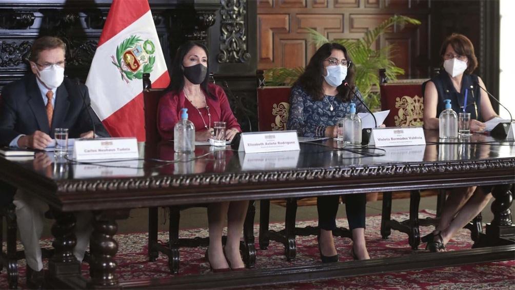 Elizabeth Astete Rodríguez presentó su renuncia y fue aceptada por el presidente Sagasti