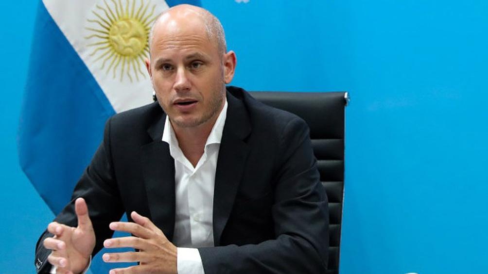 """Guillermo Merediz precisó que el programa  Te Sumo para jóvenes """"es poner en agenda un objetivo principal del Gobierno""""."""