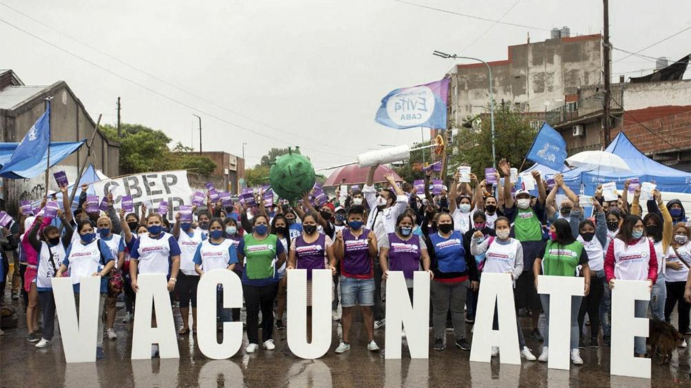 La campaña solidaria, que comenzó este sábado, involucra a alrededor de 150 mil voluntarios.