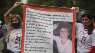 Familiares de un hombre desaparecido marcharon para reclamar avances en investigación