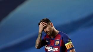 Messi rompió los protocolos en una fiesta en su casa por festejos de la Copa del Rey