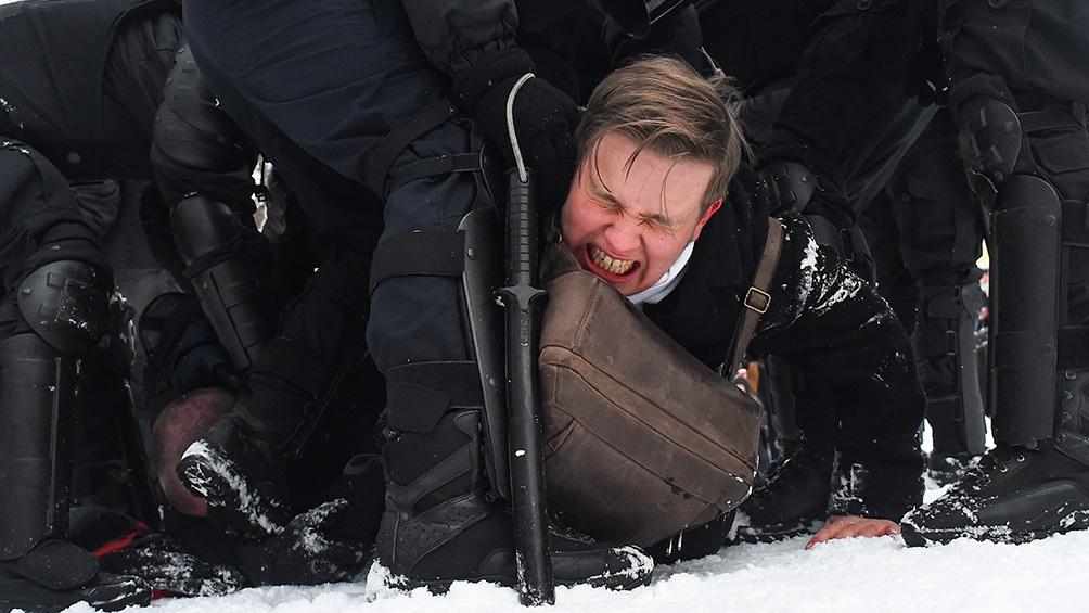 La Fundación para la Lucha contra la Corrupción, una ONG creada por Navalny le pidió a Joe Biden que imponga sanciones contra 35 ciudadanos rusos.