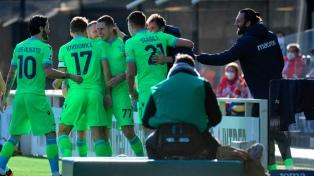 Lazio, con un gol de Correa, ganó y se colocó en zona de Liga de Europa