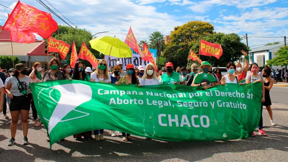 El repudio a la decisión de la jueza salió a la calle en Chaco.