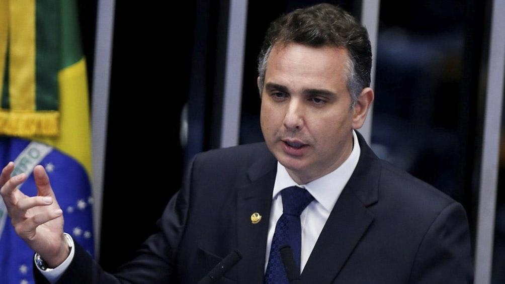 Rodrigo Pacheco de Demócratas es el nuevo jefe del Senado