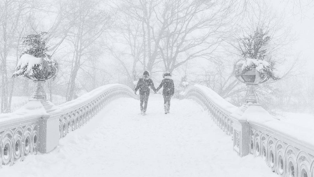 Una de las peores tormentas de nieve en la historia reciente de Estados Unidos
