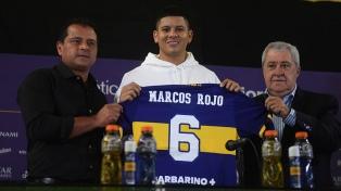 Marcos Rojo, primeiro reforço do Boca Juniors para esta temporada é apresentado