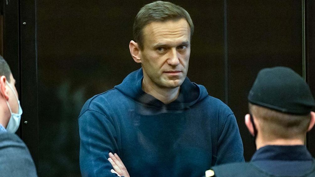 El activista Navalny está en una colonia penal en Pokrov, 100 kilómetros al este de Moscú