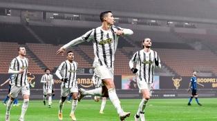 Juventus, con un gol de Cristiano Ronaldo, no pudo con Hellas Verona