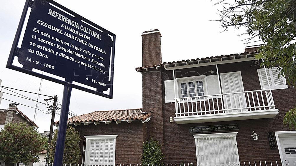 La casa de Ezequiel Martínez Estrada