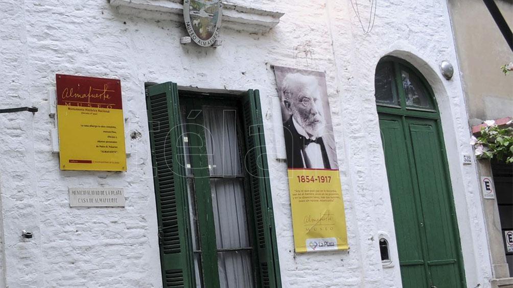 La casa de Almafuerte en La Plata