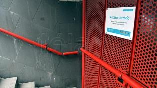 Pese a la suba de pasajeros, una de cada tres estaciones de subte permanece cerrada