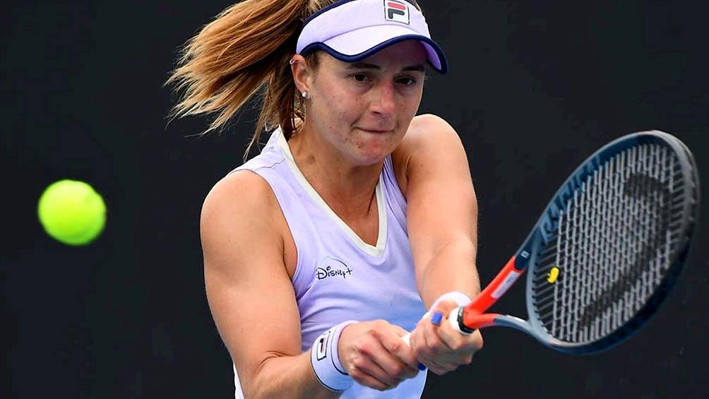La rosarina está en el puesto 47 del ranking mundial de la WTA