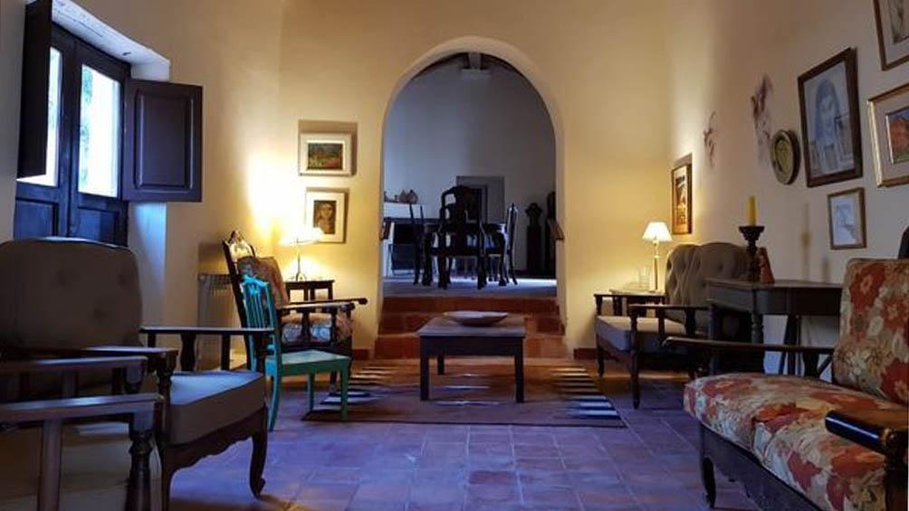 Casa de Barbarita Cruz, en Purmamarca.