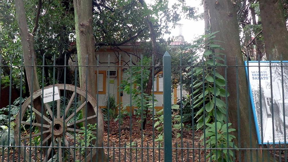 La Casa de Ernesto Sábato en Santos Lugares, inaugurada como museo en 2014.