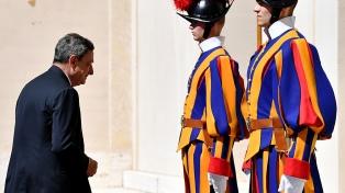 """Draghi planteó que quiere un Gobierno """"europeísta, ambientalista"""" y cercano a la OTAN"""
