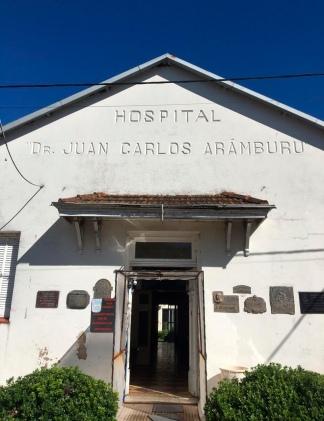 El histórico hospital de Pehuajó.