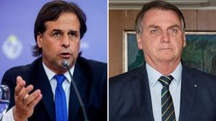 """Lacalle Pou y Bolsonaro coinciden en la idea de """"flexibilizar"""" el Mercosur"""