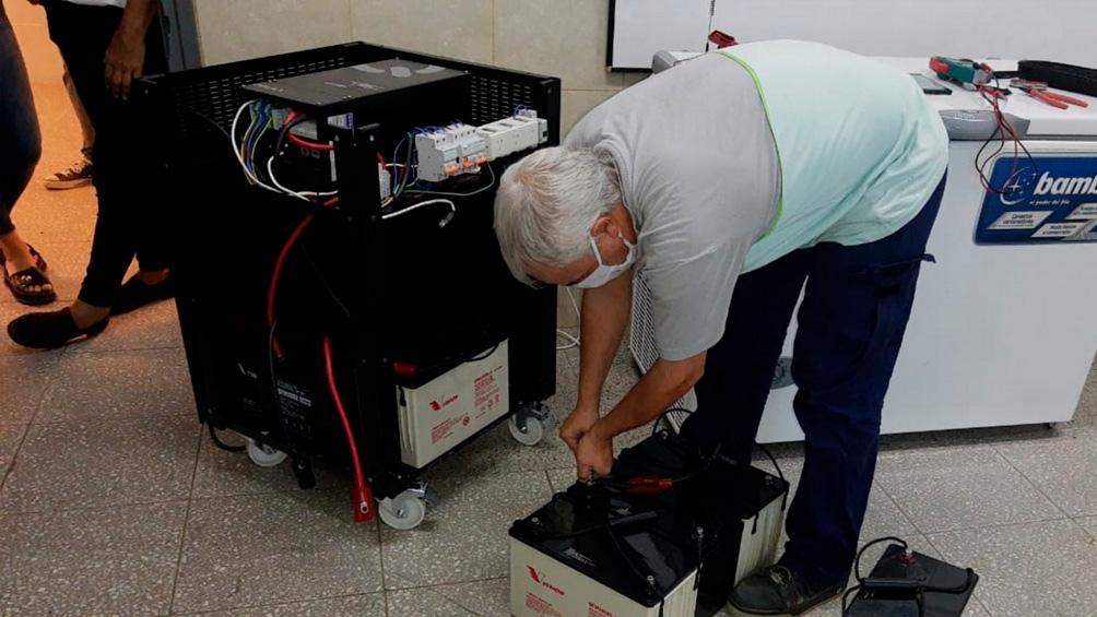 Los estudios de prueba llevados a cabo por el Ministerio de Salud bonaerense registraron en los freezers una autonomía de 20 minutos manteniendo la temperatura necesaria para la conservación adecuada de las vacunas Sputnik V.