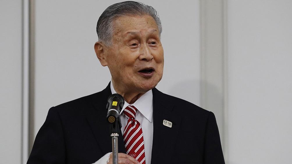 """Yoshiro Mori había manifestado """"las mujeres hablan demasiado"""" durante una junta extraordinaria del comité."""