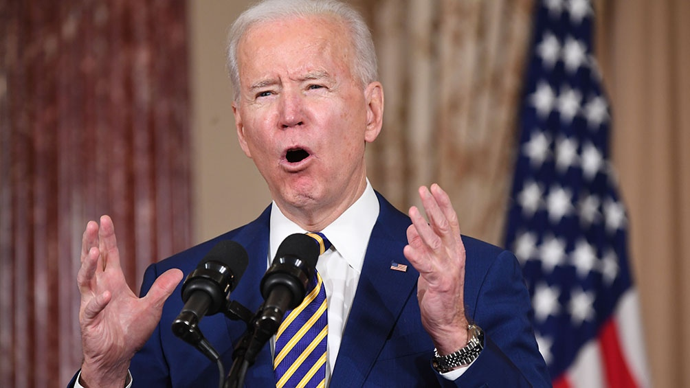 El presidente de Estados Unidos, Joe Biden, instó a los congresistas estadounidenses a prohibir los fusiles de asalto.