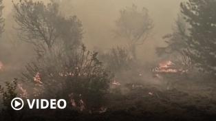 Pedirán a la ANAC que autoricen los vuelos privados para combatir el incendio