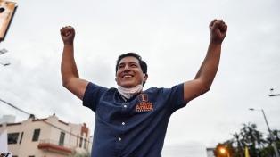"""Arauz, candidato correísta: """"Nuestra victoria fue contundente"""""""