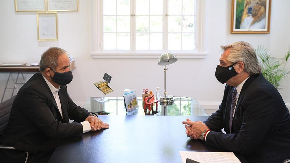 Fernández y Palazzo analizaron la situación del sector financiero