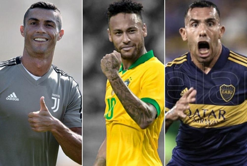"""Cristiano Ronaldo, Neymar y """"El Apache"""" celebran su cumpleaños"""