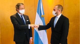 Guzmán habló con el embajador de Alemania sobre desarrollo industrial