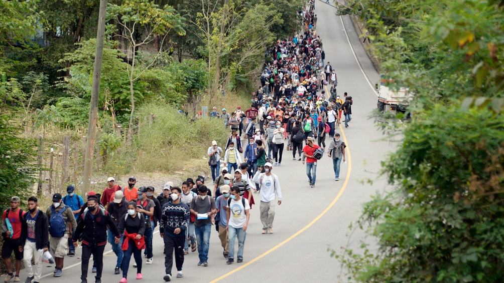 La migración desde Centroamérica a Estados Unidos ha ido en aumento desde 2018.
