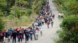 Ni la pandemia ni la militarización detienen la salida de familias centroamericanas a EEUU