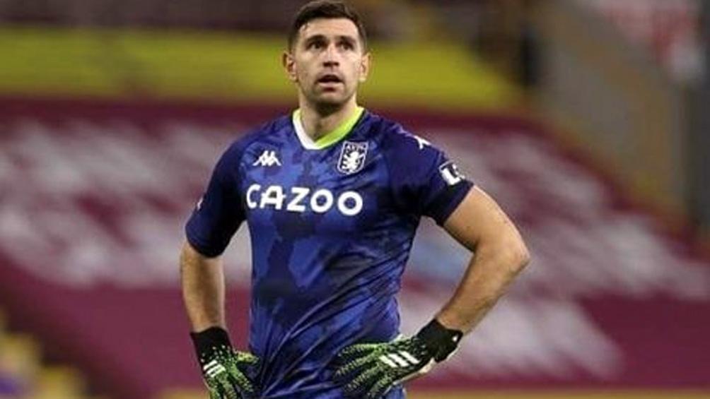 Emiliano Martínez, vital para la victoria del Aston Villa frente al