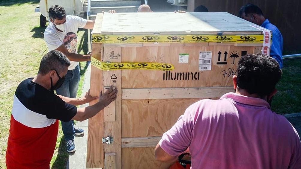 El equipo fue adquirido a la empresa estadounidense Illumina, con sede en San Diego.