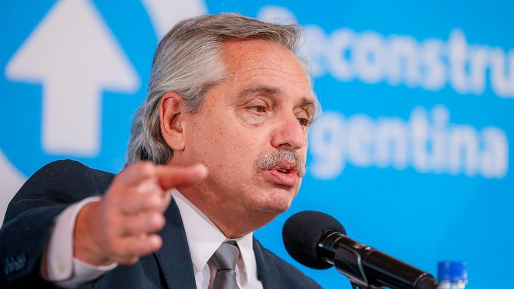 La norma lleva la firma del presidente Alberto Fernández