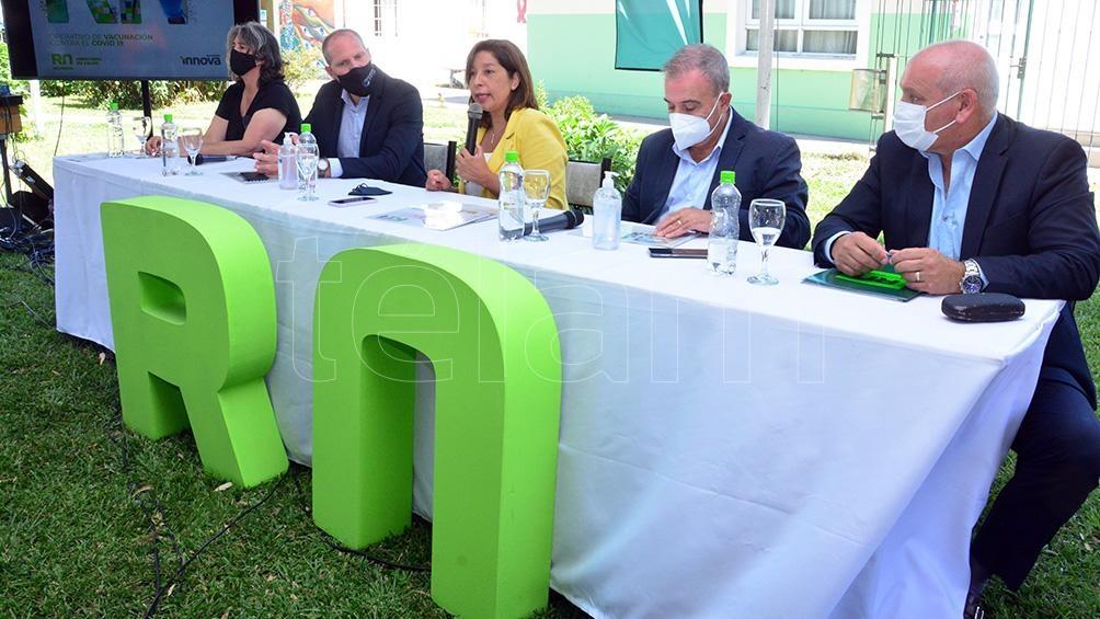 La gobernadora Arabela Carreras presento una Aplicación para el seguimiento de la vacunación