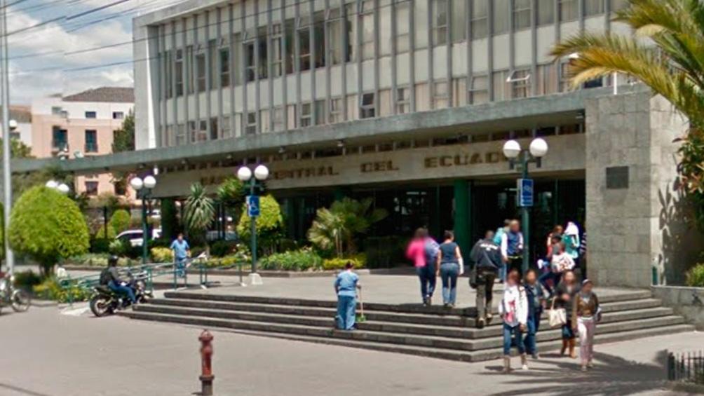 Sede de Quito del Banco Central del Ecuador.