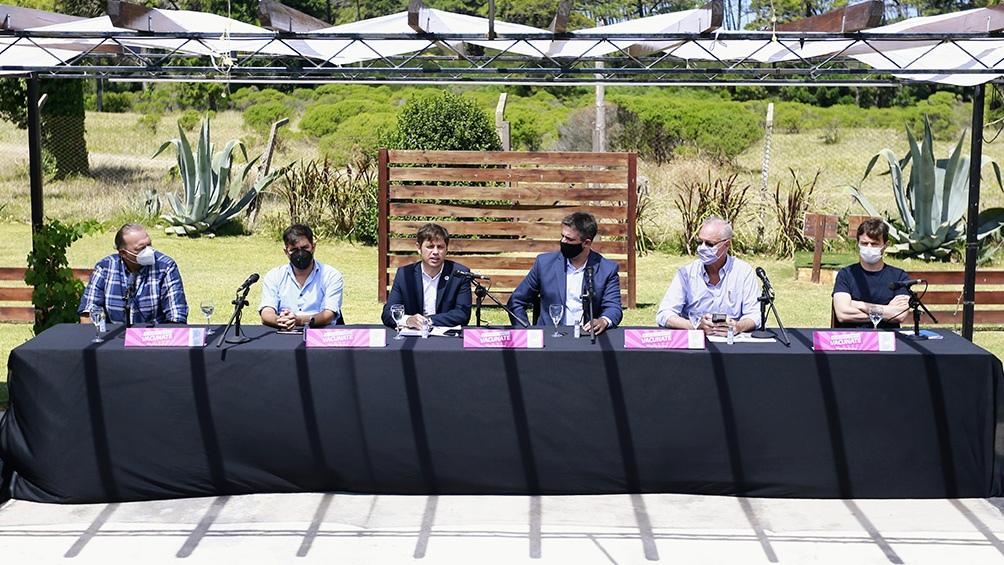 El gobernador habló de las perspectivas turísticas durante la conferencia en la que dio el reporte epidemiológico.